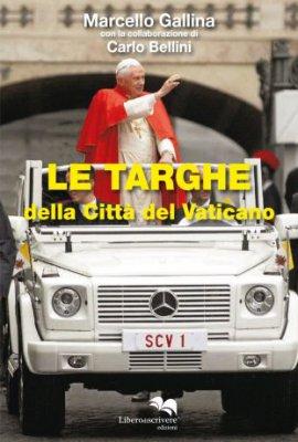 copertina di Le Targhe della Città del Vaticano